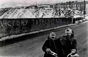 soylesi_ fotoğraf_ Marianne Grondahl_ Coal Miners'  Strike, Rhonda Valley, Wales
